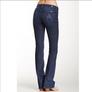 """7 For All Mankind """"A"""" Pocket Jeans • sz 28"""